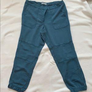 ANN TAYLOR LOFT blue pants size 12